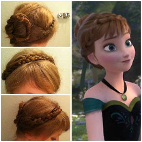 anna from frozen hairstyle 302 best images about frozen birthday party on pinterest