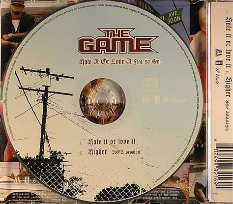 hate it or love it the game the game feat 50 cent hate it or love it vinyl at juno
