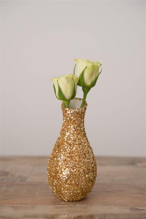 diy glitter and pastel mini vase decorations confetti co uk