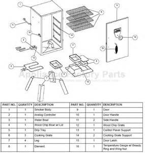 masterbuilt 20070410 bbq parts
