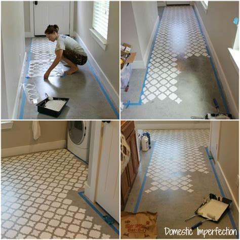 61 best Stenciled Concrete images on Pinterest   Floor