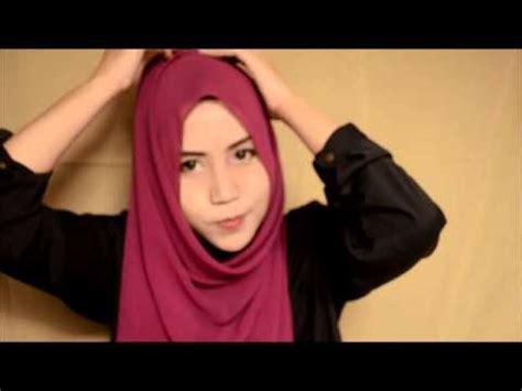 tutorial hijab chiffon simple tutorial chiffon shawl doovi