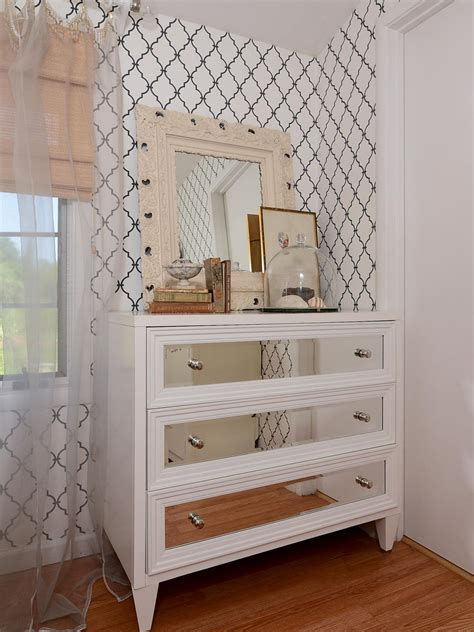 white bedroom dresser with mirror photos hgtv