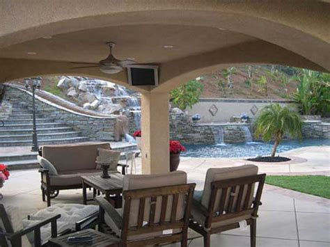 Stucco Wood Patio Cover Drawings Modern Patio Outdoor Stucco Patio Cover Designs