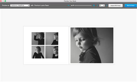 photo book layout software creating a 4 photo custom photo book layout book this