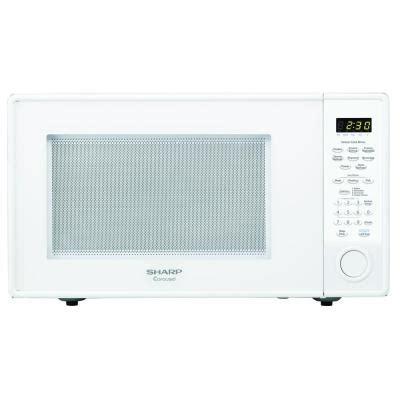 Microwave 400 Watt sharp carousel 1 8 cu ft 1100 watt countertop microwave