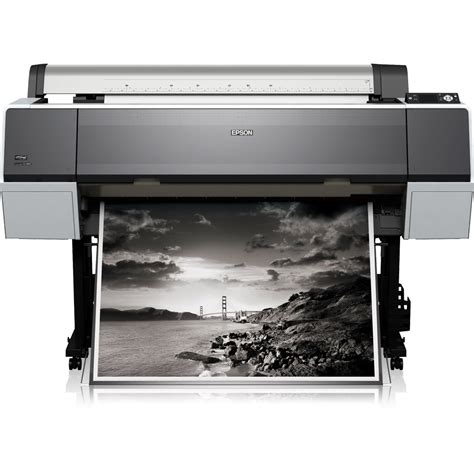 Printer A0 Epson epson stylus pro 9890 a0 colour large format printer c11cb50001a0
