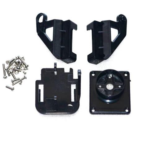 Brecket Mini Servo Kamera Breket 10sets servo bracket pt pan tilt platform anti vibration mount for aircraft fpv
