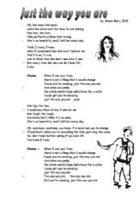 just way you are testo song 180 just the way you are 180 bruno mars 2 pages