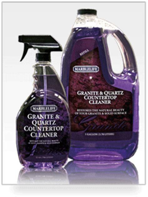 Best Product For Cleaning Granite Countertops by Marblelife Diy Best Granite Countertop Cleaner Quartz