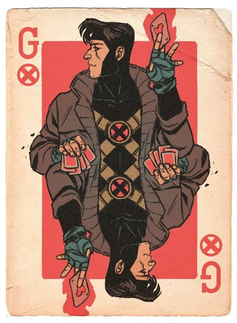 how to make gambit cards 17 best images about gambit wolverine on