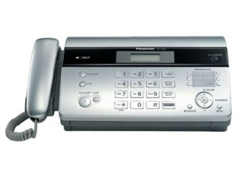 Mesin Fax Panasonic Kx Ft983 panasonic kx ft983 fax machine black price review and