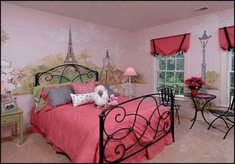 paris themed decor for bedroom pink poodles paris style bedroom decorating paris style