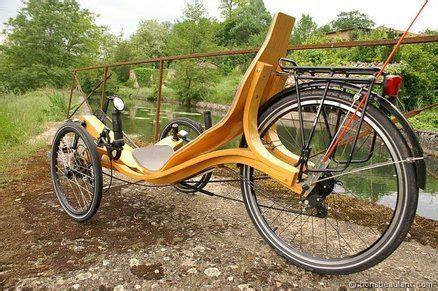zelo  woden recumbent trike european touring route www