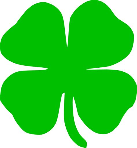 Shamrock Green | green shamrock clip art at clker com vector clip art