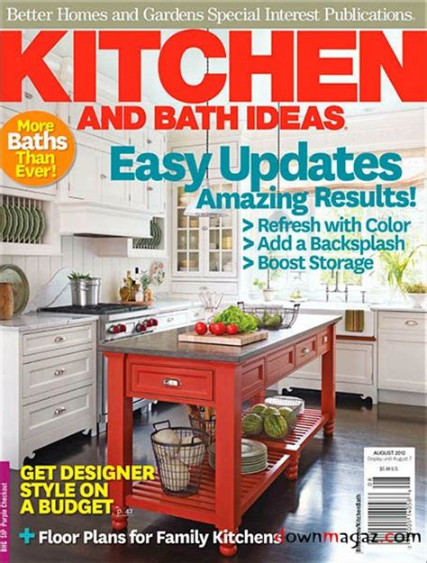 kitchen ideas magazine kitchen bath ideas august 2012 187 download pdf