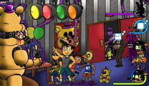 Cw fnaf crossover scene too late ld run
