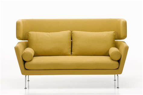 sofa mit hoher rückenlehne suita sofa mit hoher r 252 ckenlehne vitra stylepark
