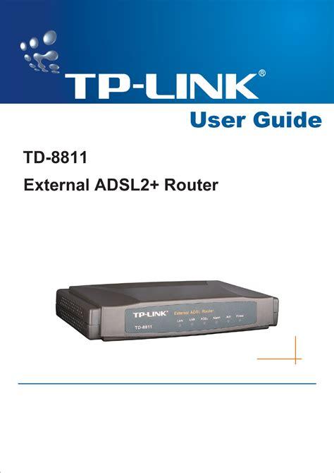 Tp Link Td 8811 tp link td 8811 user s manual for free manualagent