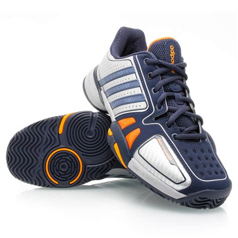 adidas barricade 7 xj junior boys tennis shoes navy