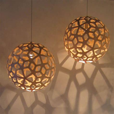 David Trubridge Coral Pendant Natural Contemporary Coral Pendant Light