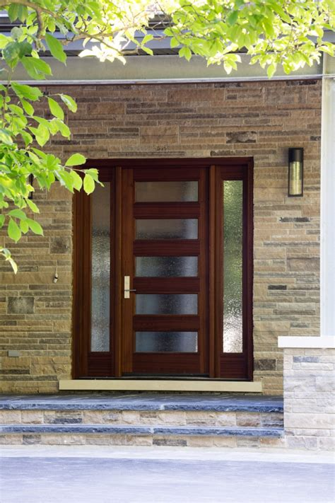Modern House Front Doors Modern Contemporary Entry Doors Glass Fiberglass Gallery And House Front Images Artenzo