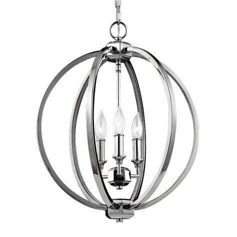 Feiss Tabby 1 Light Polished Nickel Pendant P1307pn The Polished Nickel Pendant Lights