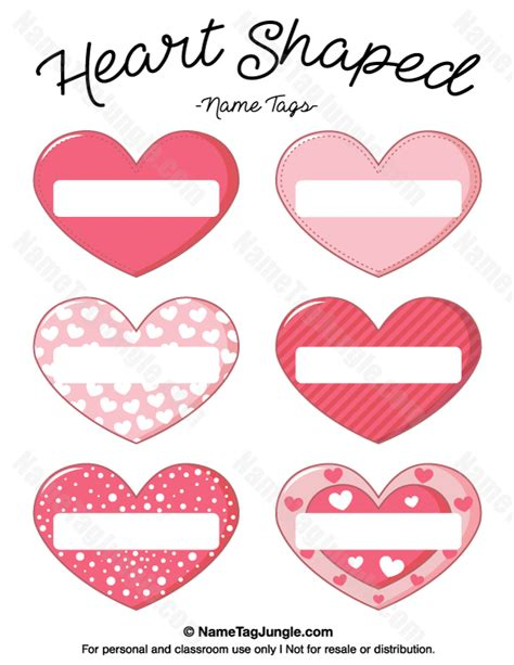 free shaped card templates free printable shaped name tags the template can