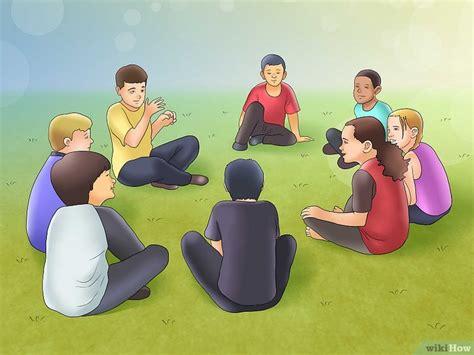 imagenes de niños jugando telefono descompuesto 4 formas de jugar quot pato pato ganso quot wikihow