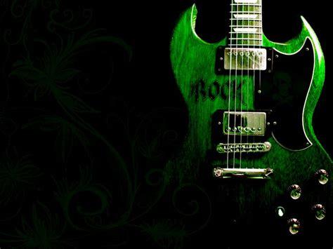 wallpaper green guitar green guitar rock hd wallpaper collection picture