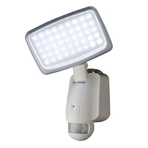 Led Outdoor Security Lights Xepa 160 Degree Outdoor Motion Activated Solar Powered White Led Security Light Xp645ew The