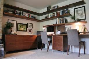 mid century modern home office ideas
