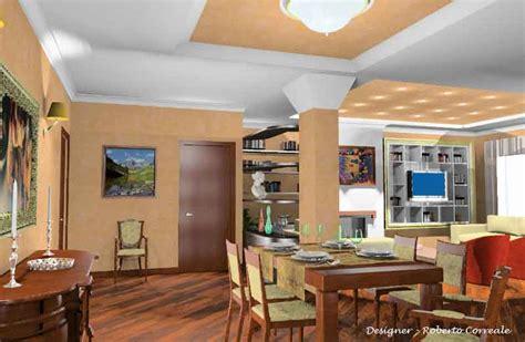 Color Salmone Per Pareti by Arredamento Casa Soggiorno Pranzo Salone Progetto