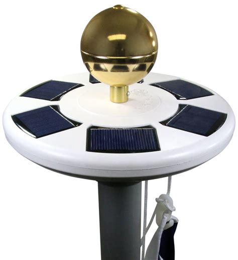solar light for flag pole solar flag pole light solarhousenumbers org