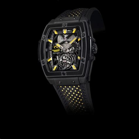 Hublot Senna 88 Black Leather 2013 06 09 the simply luxurious style