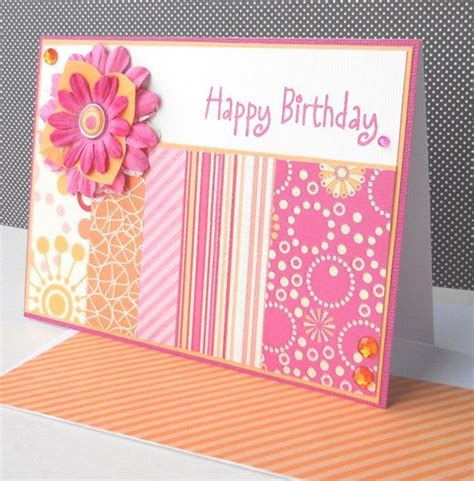 Handmade Cards Ideas Birthday - birthday card decorations idea image inspiration of cake