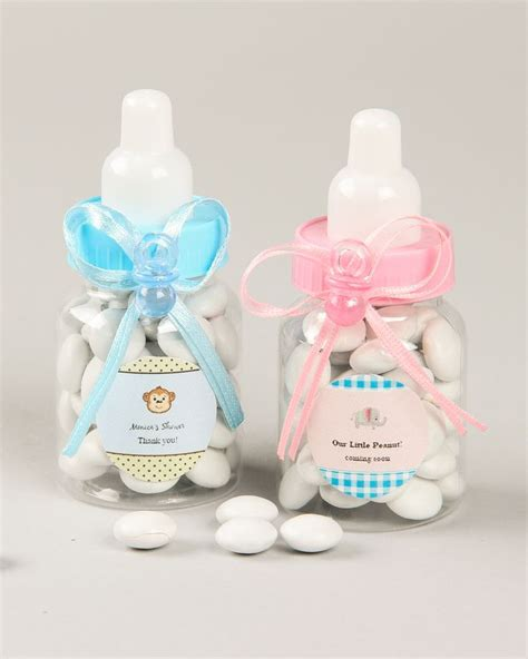 Plastic Baby Bottles For Baby Shower by Best 25 Baby Bottle Decorations Ideas On
