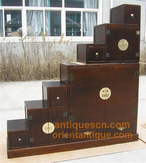 ts  japanese step tansu  parts double side