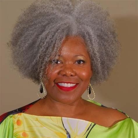 grey afro styles gray hair grey hair and black women on pinterest