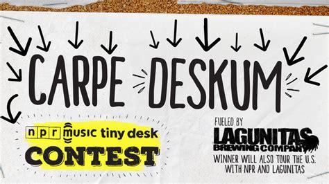Tiny Desk Concert Pwr Bttm You Can Now Enter The 2017 Tiny Desk Contest Wnpr News