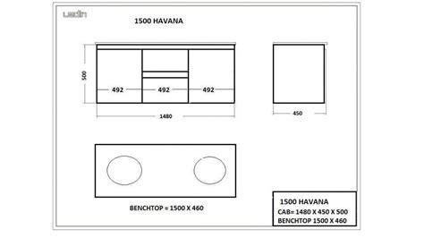 Harvey Norman Bathroom Vanities Ledin Havana 1500mm Stone Top Vanity Bathroom Vanity