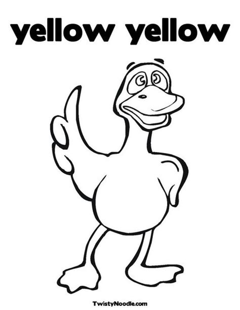 yellow coloring pages for toddlers free coloring pages of y yellow