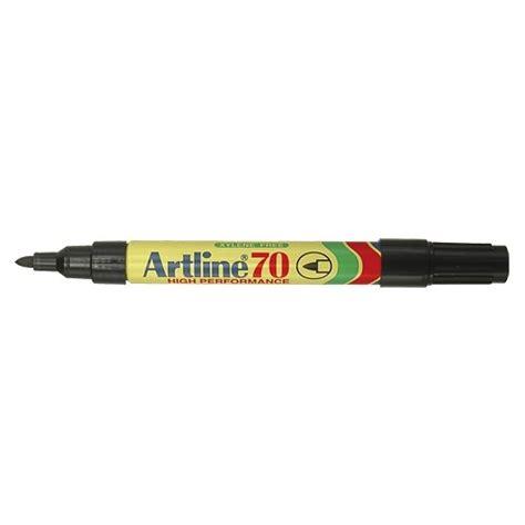 Pen Paper Spidol Artline Permanent Marker 70 Hitam 1 Pcs artline 70 permanent markers black markers with 1 5mm