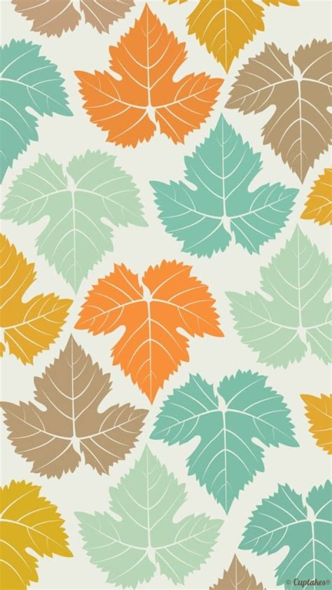 apple wallpaper leaf colored maple leaves pattern wallpaper free iphone