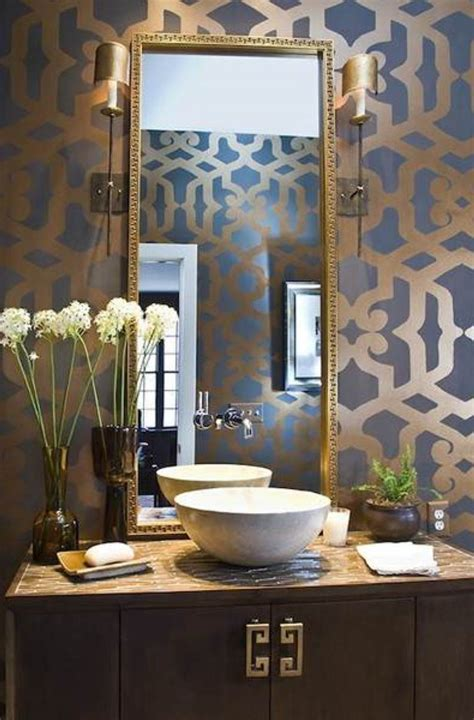 Bathroom Ideas Decorating Cheap Awesome Contemporary Powder Room Sinks Decoration Ideas