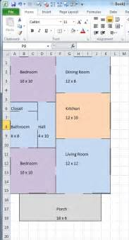 floor plan exle create floor plan in excel valine