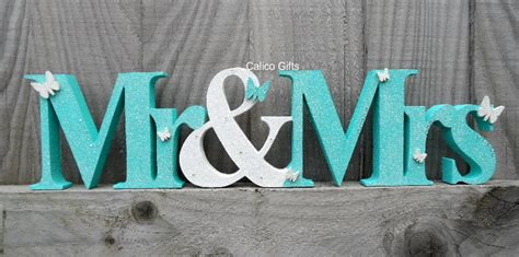 Mr Lettering by Mr And Mrs Sign Top Table Sign Wooden Mr And Mrs Letters