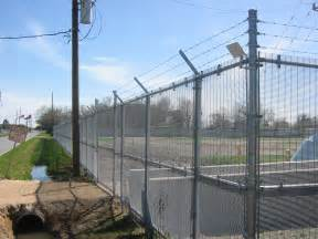 wirewall welded high security fencing security application