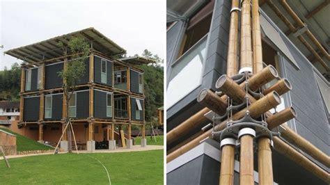 casa bambu una casa de bamb 250 inspirada en el feng shui que utiliza el