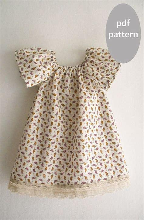 peasant dress pattern infant girl peasant dress pattern tutorial toddler dress pattern